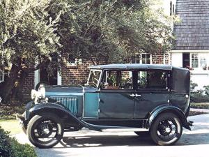 Ford Model A Leatherback Fordor Sedan 1930 года